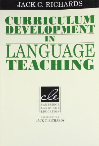 9781107400160: Curriculum Development in Language Teaching South Asian Edition
