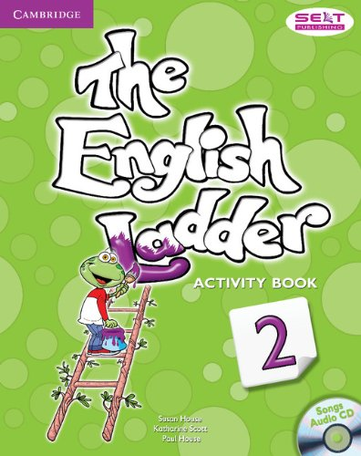9781107400696: The English Ladder Level 2 Activity Book with Songs Audio CD