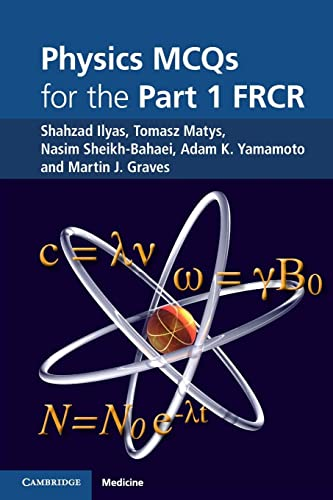 9781107400993: Physics MCQs for the Part 1 FRCR
