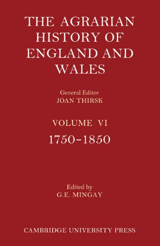 9781107401136: The Agrarian History of England and Wales - Volume 6 Set: The Agrarian History of England and Wales 2 Part Set: Volume 6, 1750-1850