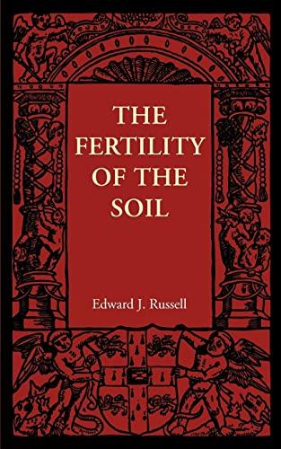 9781107401761: The Fertility of the Soil