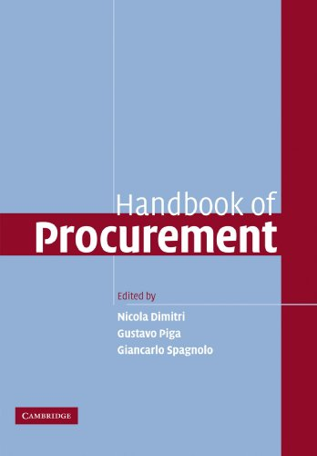 9781107402317: Handbook of Procurement