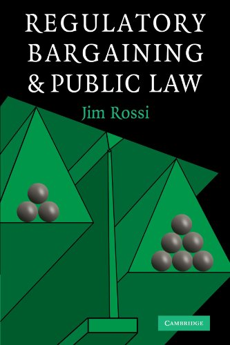 Regulatory Bargaining and Public Law: Jim Rossi