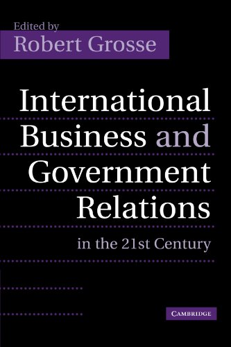 9781107402881: International Business and Government Relations in the 21st Century