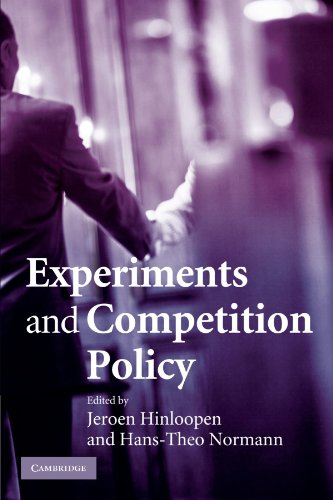 9781107403611: Experiments and Competition Policy