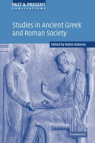 9781107403819: Studies in Ancient Greek and Roman Society (Past and Present Publications)