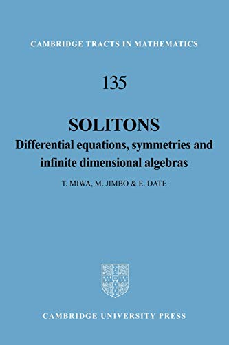 9781107404199: Solitons Paperback (Cambridge Tracts in Mathematics)
