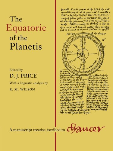 9781107404274: Equatorie of Planetis