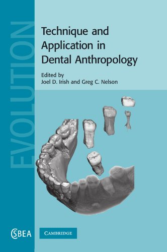 9781107405288: Technique and Application in Dental Anthropology (Cambridge Studies in Biological and Evolutionary Anthropology)