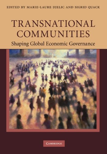 9781107406162: Transnational Communities: Shaping Global Economic Governance