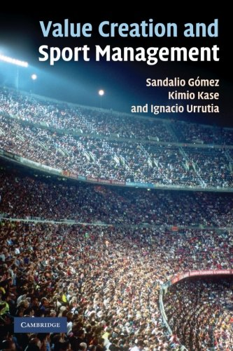 9781107406179: Value Creation and Sport Management Paperback