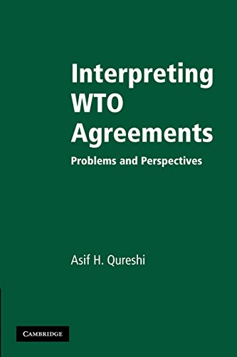 9781107406261: Interpreting WTO Agreements: Problems and Perspectives