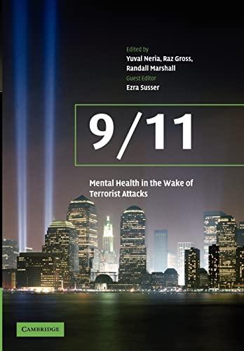 911: Mental Health in the Wake of Terrorist Attacks