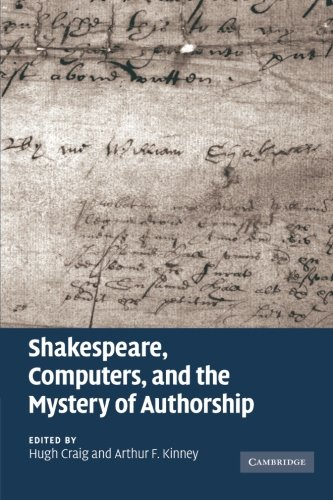9781107407084: Shakespeare, Computers, and the Mystery of Authorship