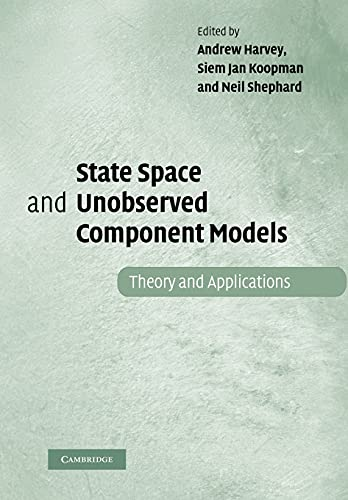 9781107407435: State Space and Unobserved Component Models: Theory and Applications