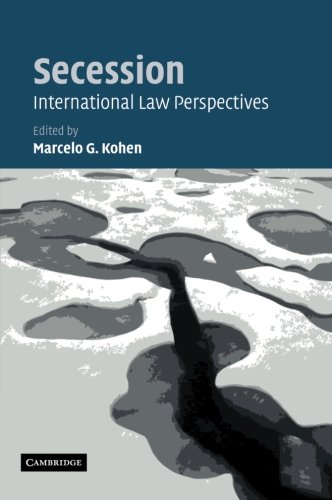 9781107407824: Secession: International Law Perspectives