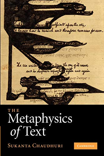 9781107412569: The Metaphysics of Text