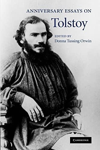 9781107412743: Anniversary Essays on Tolstoy
