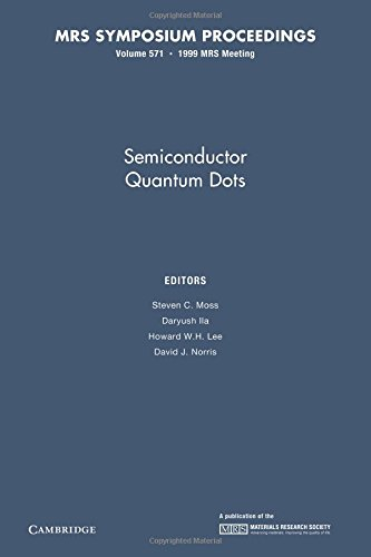 9781107414075: Semiconductor Quantum Dots: Volume 571 (MRS Proceedings)