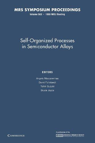 9781107414167: Self-Organized Processes in Semiconductor Alloys: Volume 583 (MRS Proceedings)