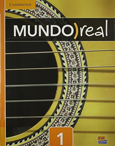 9781107414310: Mundo Real Level 1 Value Pack (Student's Book plus ELEteca Access, Workbook) (Spanish Edition)