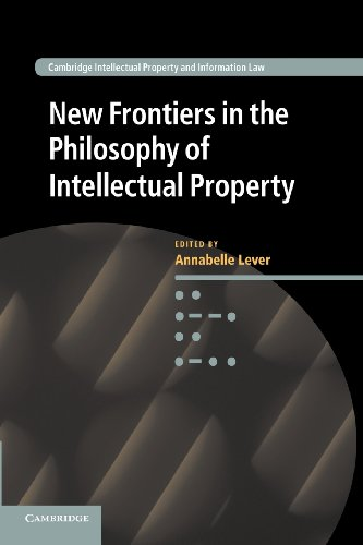 9781107416895: New Frontiers in the Philosophy of Intellectual Property (Cambridge Intellectual Property and Information Law)