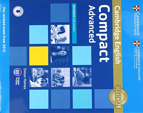 9781107417908: Compact Advanced Workbook with answers [Lingua inglese]