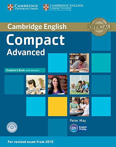 9781107418028: Compact Advanced Student's Book with Answers with CD-ROM