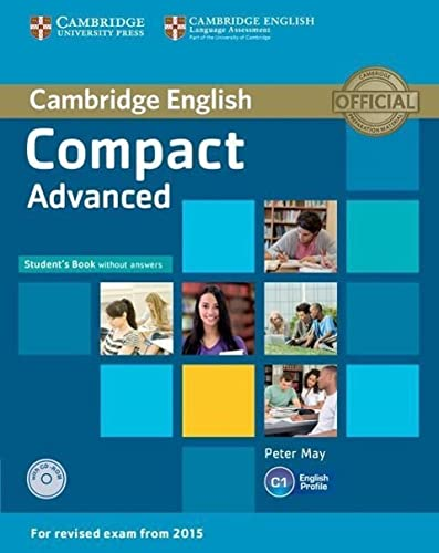9781107418080: Compact Advanced Student's Book without Answers with CD-ROM