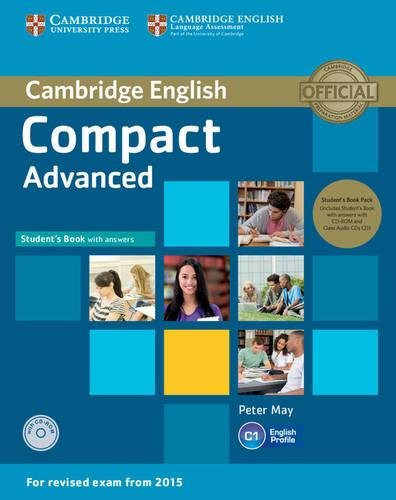 9781107418196: Compact Advanced Student's Book Pack (Student's Book with Answers with CD-ROM and Class Audio CDs(2))