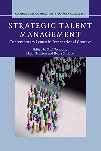 9781107421585: Strategic Talent Management: Contemporary Issues in International Context (Cambridge Companions to Management)