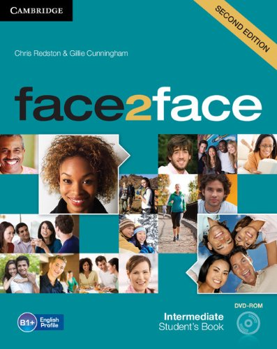 9781107422100: face2face Intermediate Student's Book with DVD-ROM