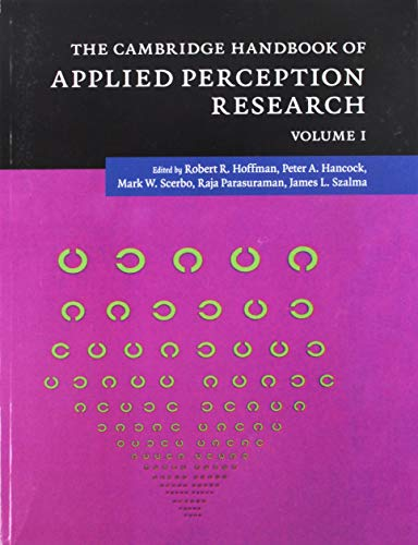 9781107422230: The Cambridge Handbook of Applied Perception Research 2 Volume Paperback Set (Cambridge Handbooks in Psychology)