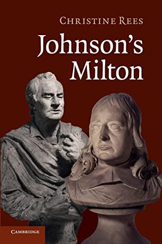 9781107422513: Johnson's Milton