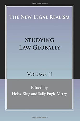 9781107422988: The New Legal Realism: Volume 2: Studying Law Globally