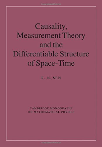 9781107424586: Causality, Measurement Theory and the Differentiable Structure of Space-Time