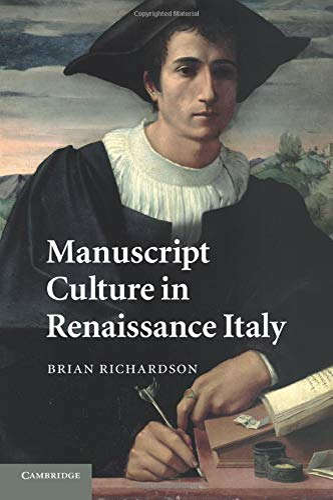 9781107425521: Manuscript Culture in Renaissance Italy