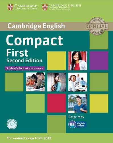 9781107428423: Compact First Student's Book without Answers with CD-ROM Second Edition