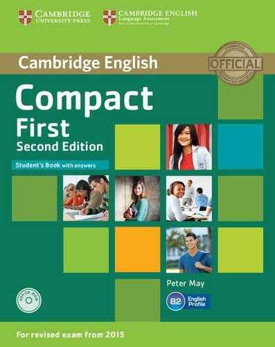 9781107428447: Compact First Student's Book with Answers with CD-ROM Second Edition