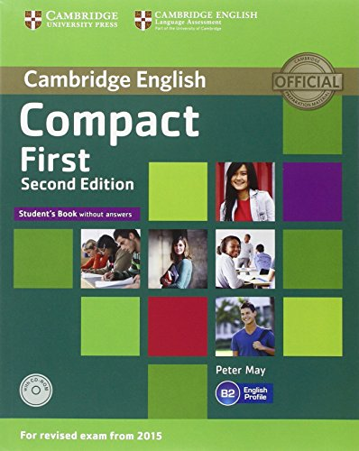 9781107428485: Compact First Student's Pack (Student's Book without Answers with CD ROM, Workbook without Answers with Audio) Second Edition