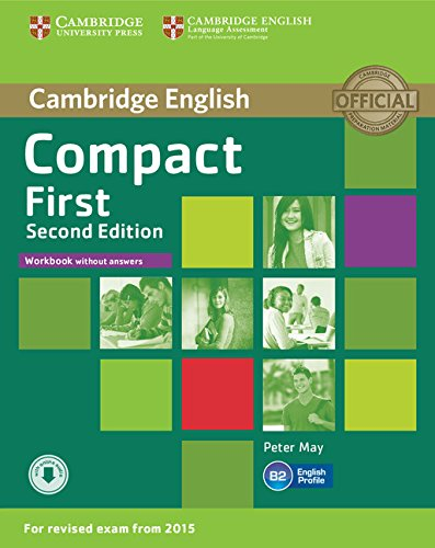 9781107428553: Compact First Workbook without Answers with Audio