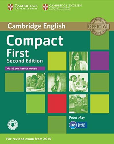 9781107428553: Compact first. Workbook. Without answers. Per le Scuole superiori. Con CD Audio. Con espansione online