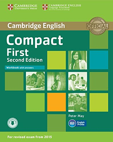 9781107428560: Compact First Workbook with answers CD: Poziom B2 [Lingua inglese]