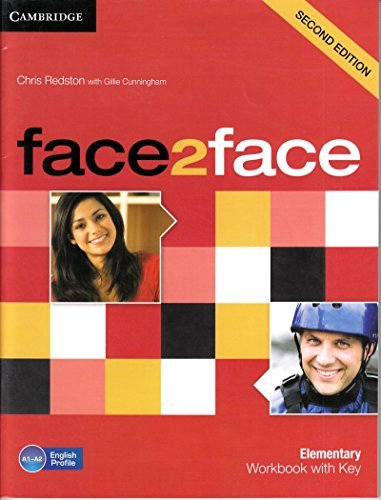 face2face: Elementary Workbook with Key (Second Edition): Chris Redston,Gillie Cunningham