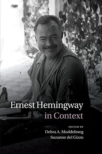 9781107429314: Ernest Hemingway in Context (Literature in Context)