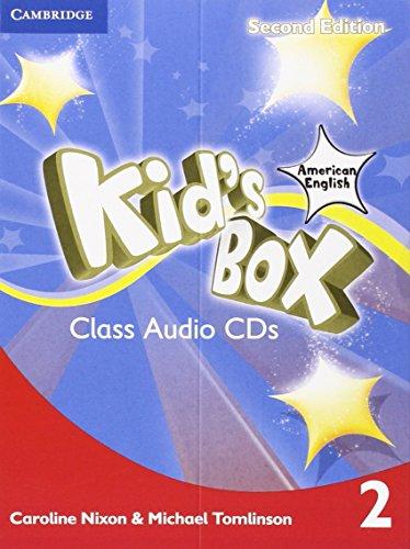 9781107431355: Kid's Box American English Level 2 Class Audio CDs (4) 2nd Edition
