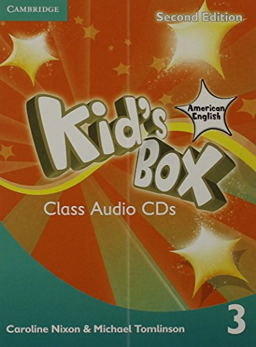 Kid's Box American English Level 3 Class Audio CDs (2): Nixon, Caroline; Tomlinson, Michael