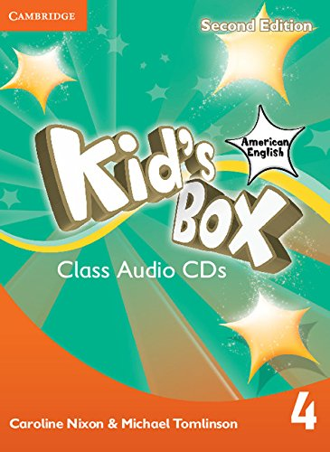 9781107433236: Kid's Box American English Level 4 Class Audio CDs (3)