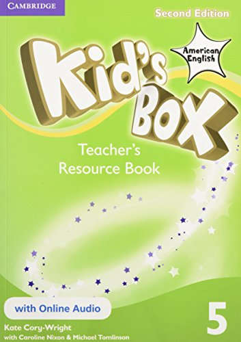 9781107433489: Kid's Box American English Level 5 Teacher's Resource Book with Online Audio 2nd Edition - 9781107433489