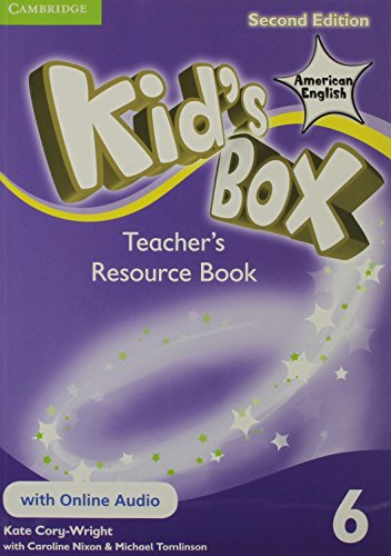 9781107433526: Kid's Box American English Level 6 Teacher's Resource Book with Online Audio